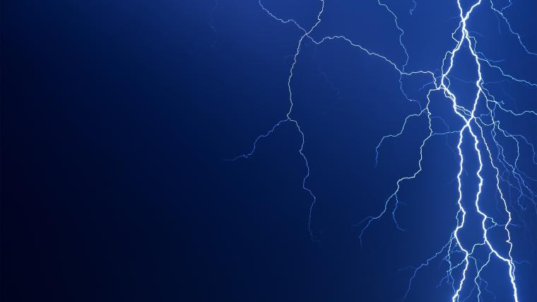 2560x1440 Lightning bolt desktop PC and Mac wallpaper