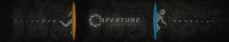 Portal 2 Dual Screen Wallpaper gaming
