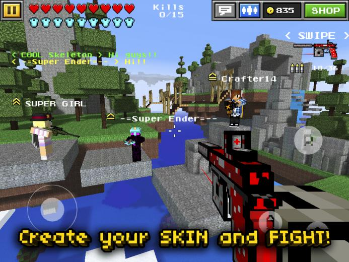 Minecraft Pixel Gun 3d Games PC Android iPhone and iPad Wallpapers