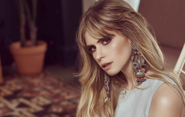 Wallpaper look girl earrings makeup Carlson Young images for