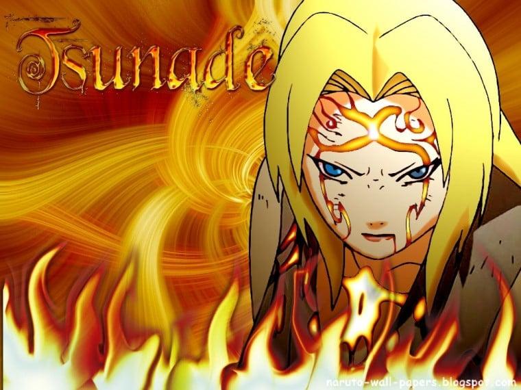 Naruto And Bleach Anime Wallpapers Yondaime Hokage   Tsunade   the