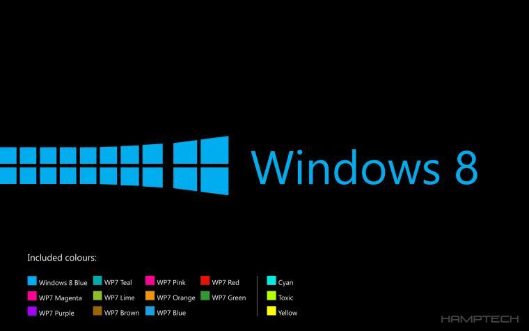 Windows 8 LockscreenWallpaperpack BlackEdition by Hamptech on