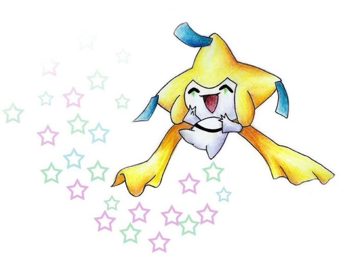 Pokemon Jirachi Wish Maker Ash