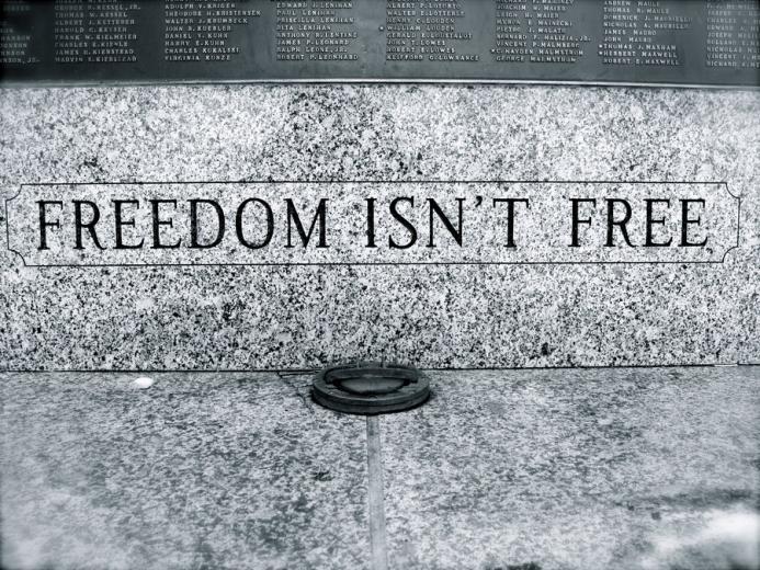 Freedom isn  t Free by oO2bored2careOojpgfreedom20isn27t20free