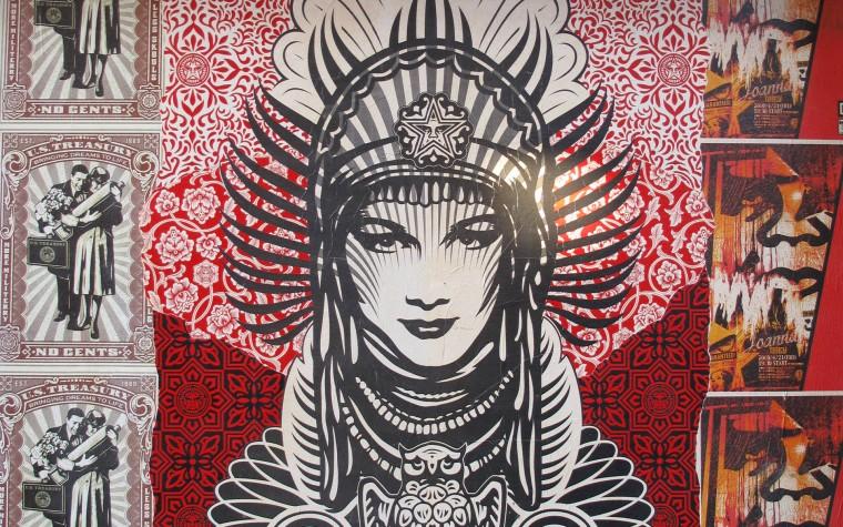 Graffiti Obey 19201200 Wallpaper 806449