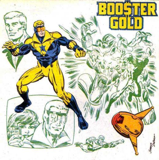 DC Comics images Booster Gold HD wallpaper and background photos