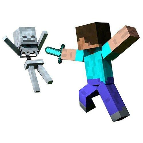 Minecraft Wall Decals for Pinterest