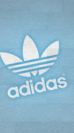640x1136 Adidas White Logo Iphone 5 wallpaper