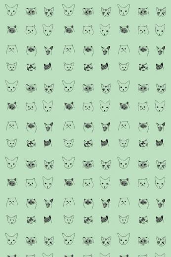 BainesFricker CATS WALLPAPER