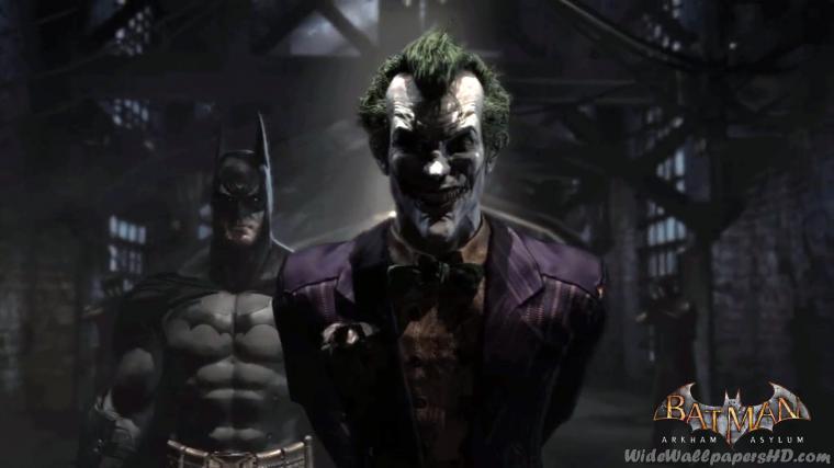 Joker Arkham Asylum Wallpaper