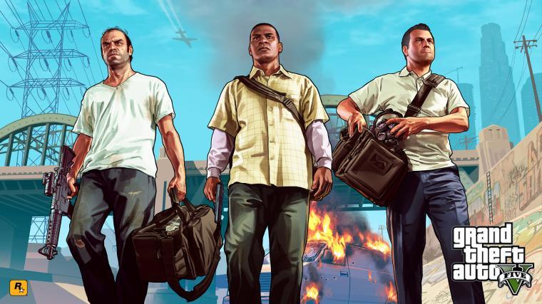 Wallpaper Gta 5 Grand Theft Auto V Rockstar 2 Wallpapers