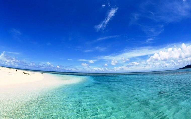 blue ocean beach 1920x1200 wallpaper Nature Beaches HD Desktop