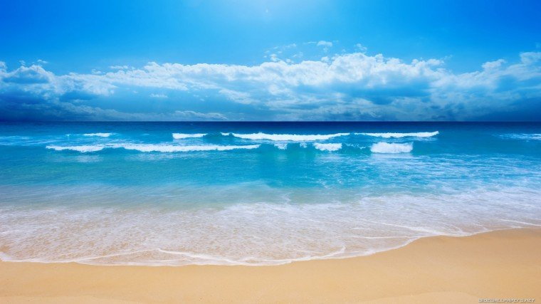 hd beach wallpaper Natural Beautiful Beach HD Wallpaper