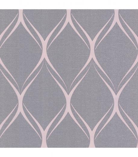 Gustav Purple Geometric WallpaperGustav Purple Geometric Wallpaper
