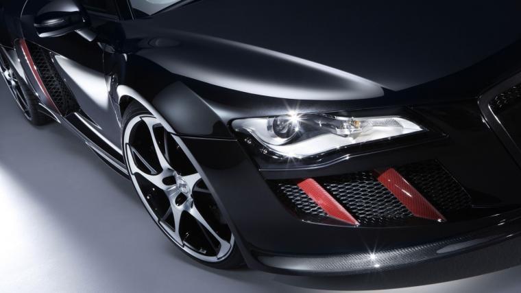 Audi negro guapo Audi R8 coches pantalla ancha Imgenes HD y de