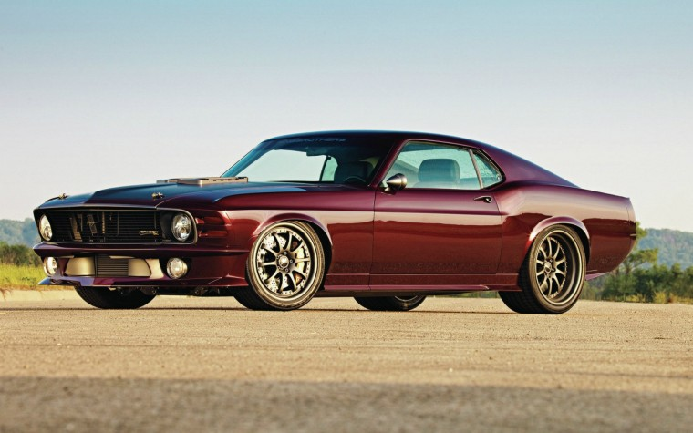 muscle cars vehicles ford mustang red cars american cars wallpaper