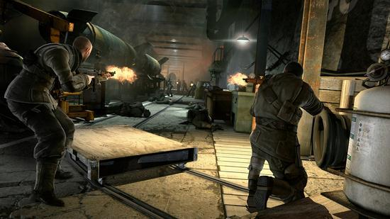 Windows 7 Background Theme With Latest Sniper Elite V2 Wallpapers