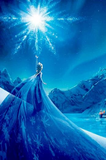 Frozen 2013 iPhone 4 Wallpaper and iPhone 4S Wallpaper