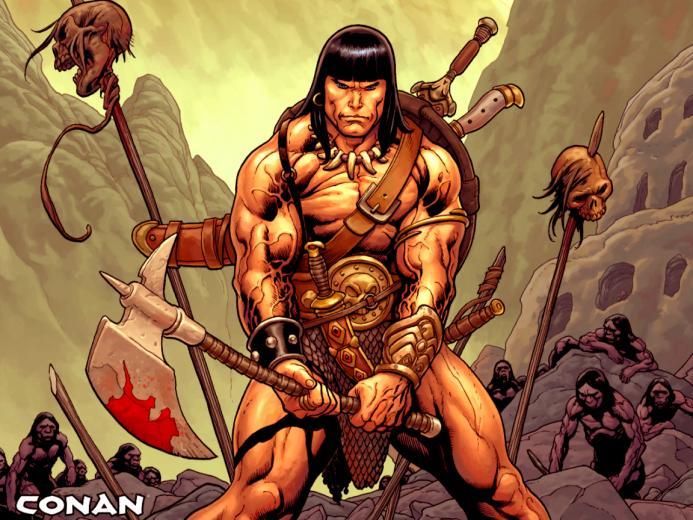Conan the Barbarian wallpapers Conan the Barbarian stock photos