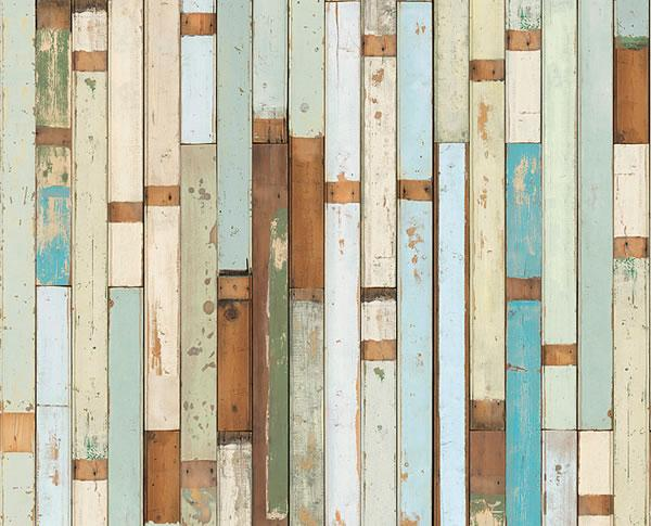 Scrapwood wallpaper by Piet Hein Eek available to buy online at House