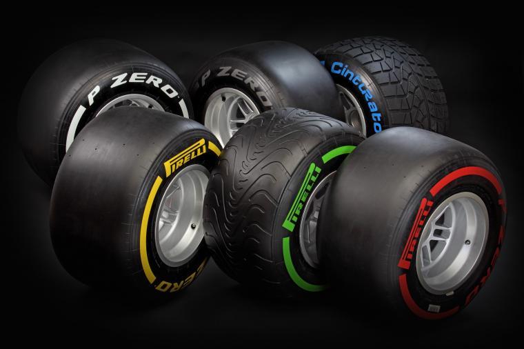 blue rubber sports Formula One pirelli soft 2012 Tyres