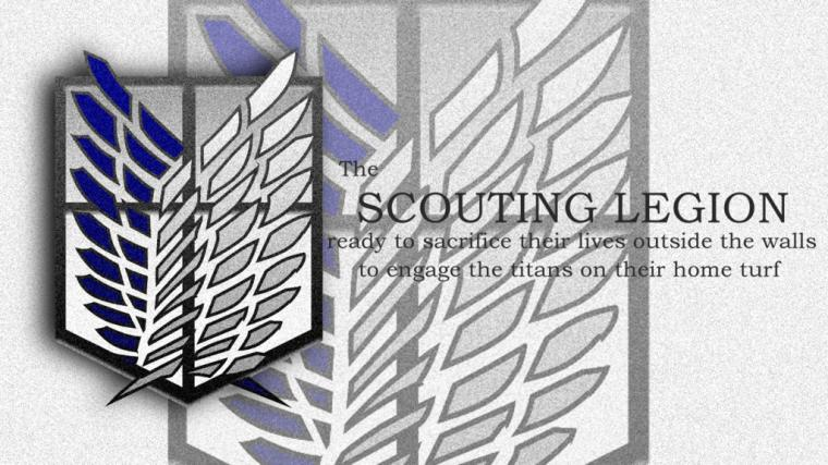 Attack on Titan Scouting Legion by chronos73