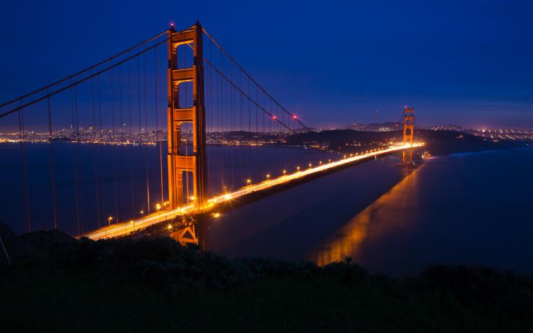 Wallpapers and pictures San Francisco Golden Gate Bridge wallpaper