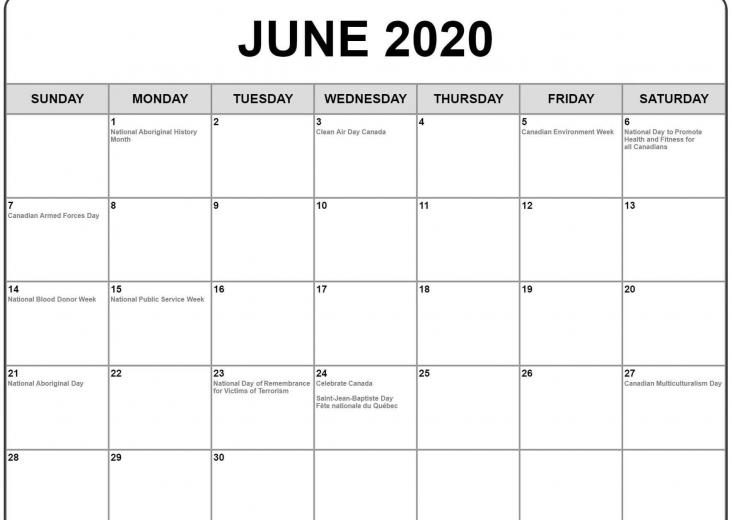 June 2020 Calendar Wallpapers   Top June 2020 Calendar