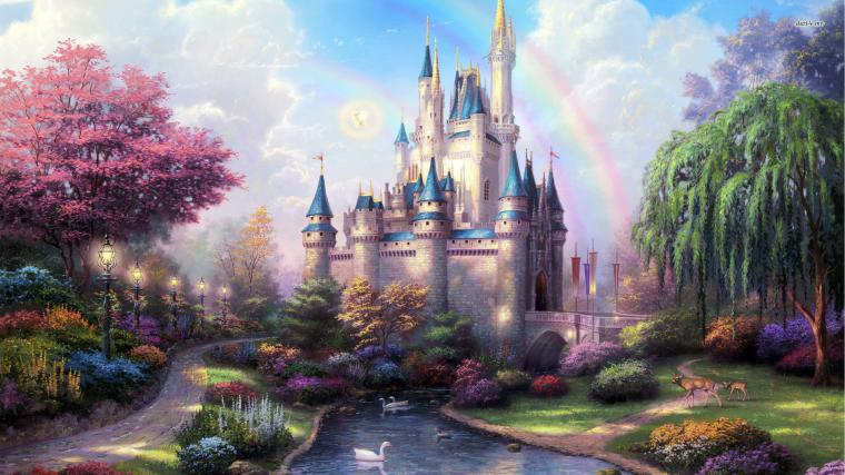 Fairy Tale Castle wallpaper Download High Resolution HD Wallpapers