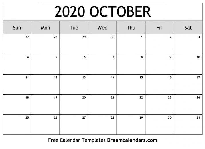 October 2020 Calendar Wallpapers   Top October 2020 Calendar