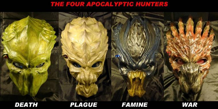 Horsemen of Apocalypse by Uratz StudiosDarksiders 4 Horsemen Wallpaper