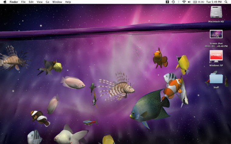3D LIVE Wallpaper ScreenSaver 19 Desktop Aquarium 3D LIVE