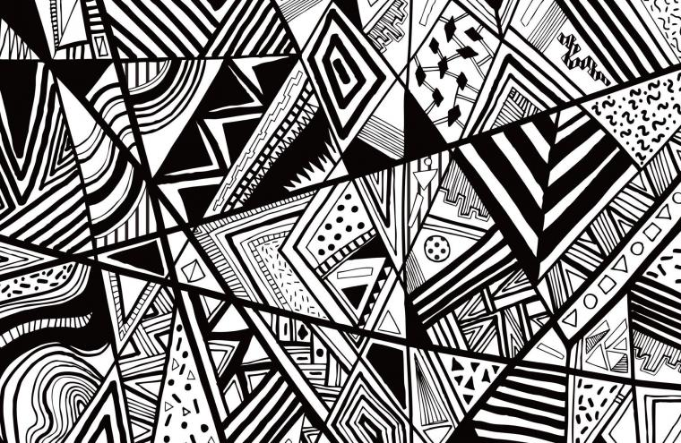 Black And White Abstract Backgrounds
