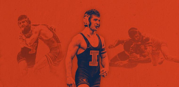 Isaiah Martinez Repeats as NCAA Champion Illinois Matmen