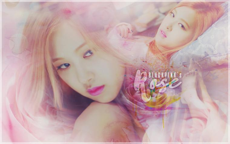 Rose Blackpink Wallpaper by atmatima
