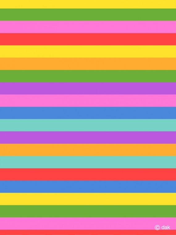 Colorful horizontal stripes Wallpaper desktop wallpaper