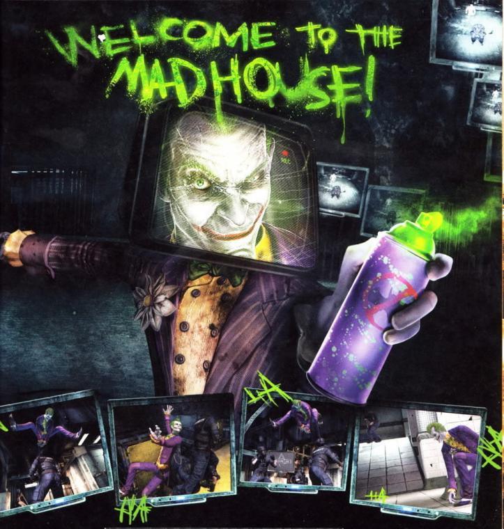 Batman Arkham Asylum images Joker HD wallpaper and background
