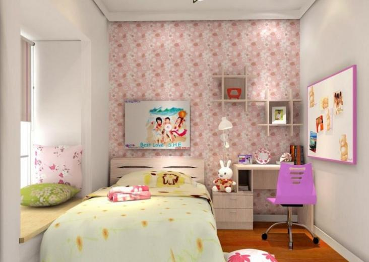 3d wallpaper girl room wallpaper 3d decoration of girl room