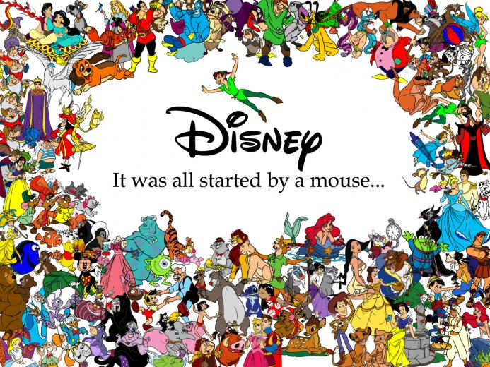 Started with a Mouse   Classic Disney Wallpaper 16471815