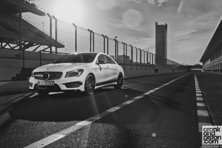 Mercedes Benz CLA 45 AMG crankandpiston wallpapers 04