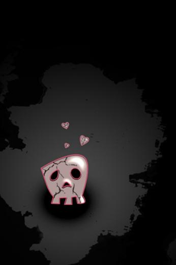 EMO Love iPhone 4 Wallpaper and iPhone 4S Wallpaper
