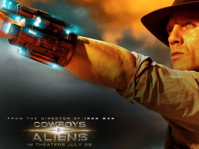 Cool Wallpaper of Cowboys Aliens   Cowboys Aliens Wallpaper