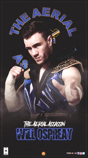 The 434   The Aerial Assassin Will Ospreay Facebook