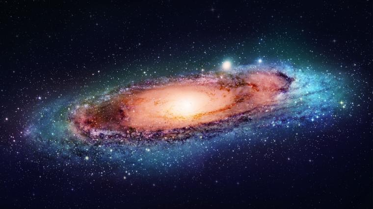 Andromeda Galaxy Space 2048 x 1152 Download Close