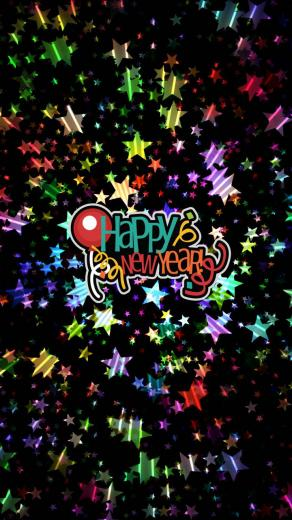 Happy New Year iPhone Wallpapers