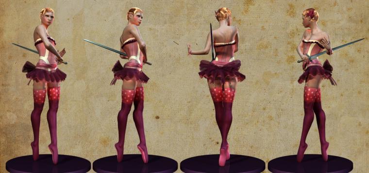 Sophia The Blade Dancer by bretmcnee