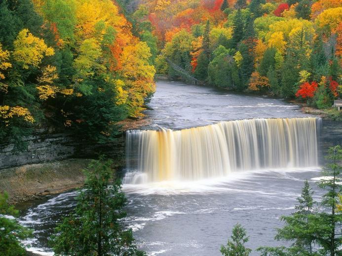 Full HD Waterfall Nature Wallpapers Widescreen for Laptop Desktop