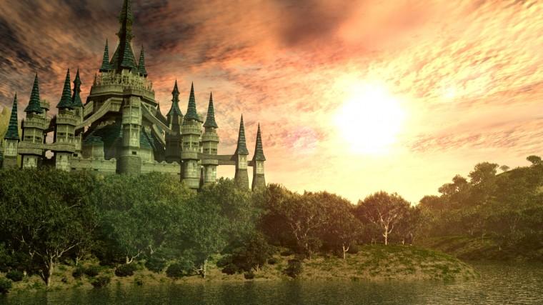 Hyrule Castle Twilight Princess wallpaper   210212