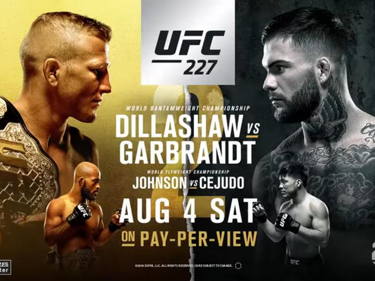 Youre going to be unable to get this latest UFC 227 video trailer