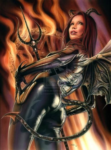 Devil Girl by mcalandra